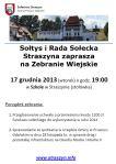 Zawiadomienie Zebranie Wiejskie (2013-12-17)