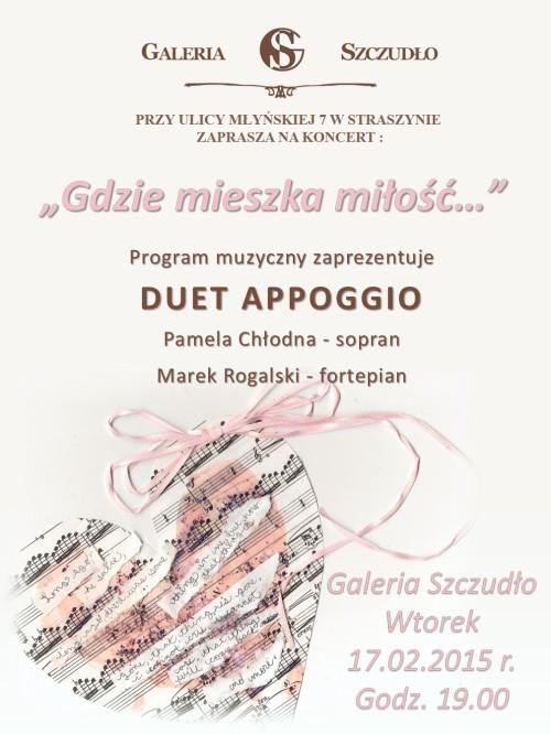 Plakat Walentynki APPOGGIO